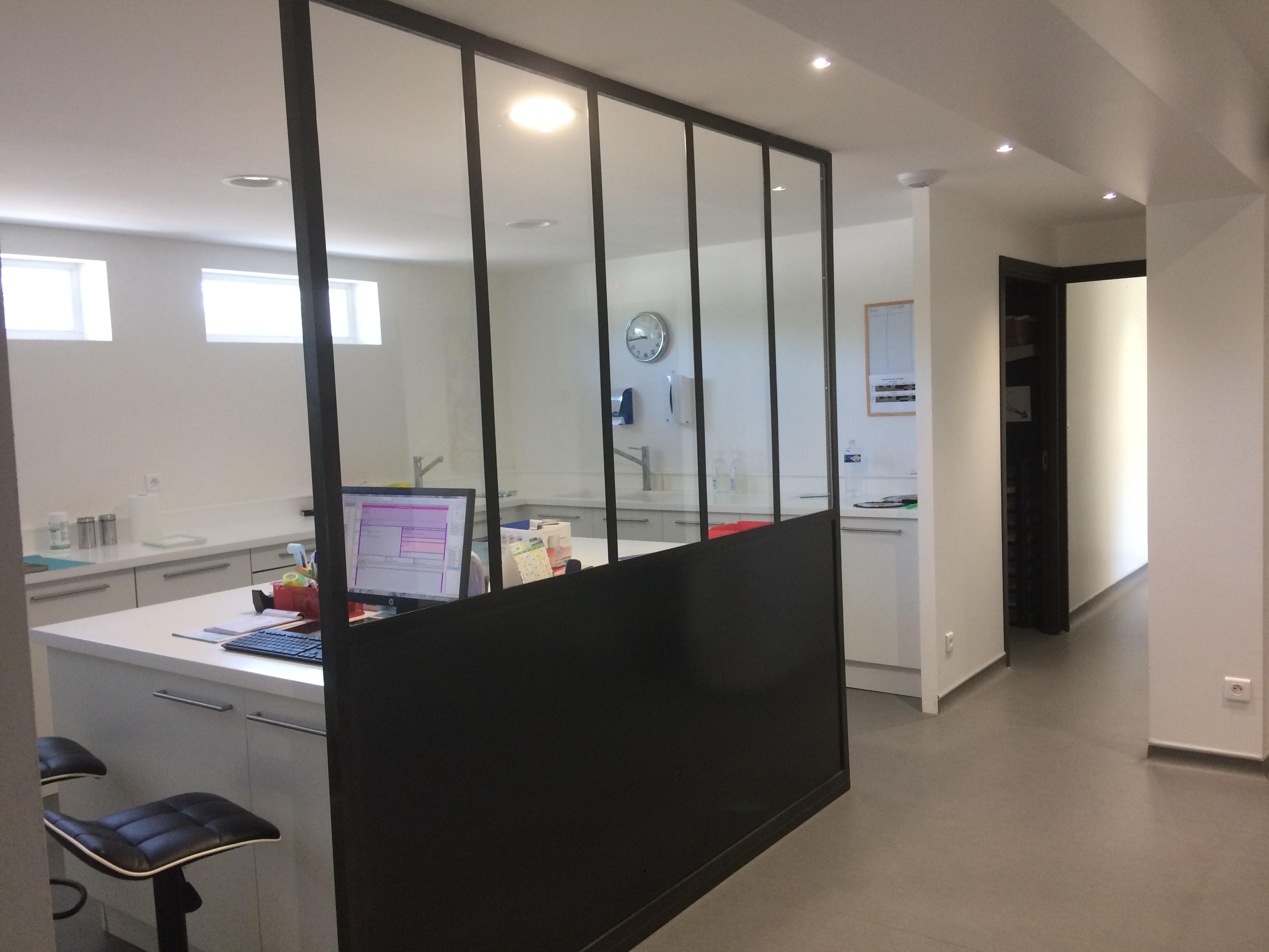 Extension et rénovation d'un cabinet dentaire à Coubon