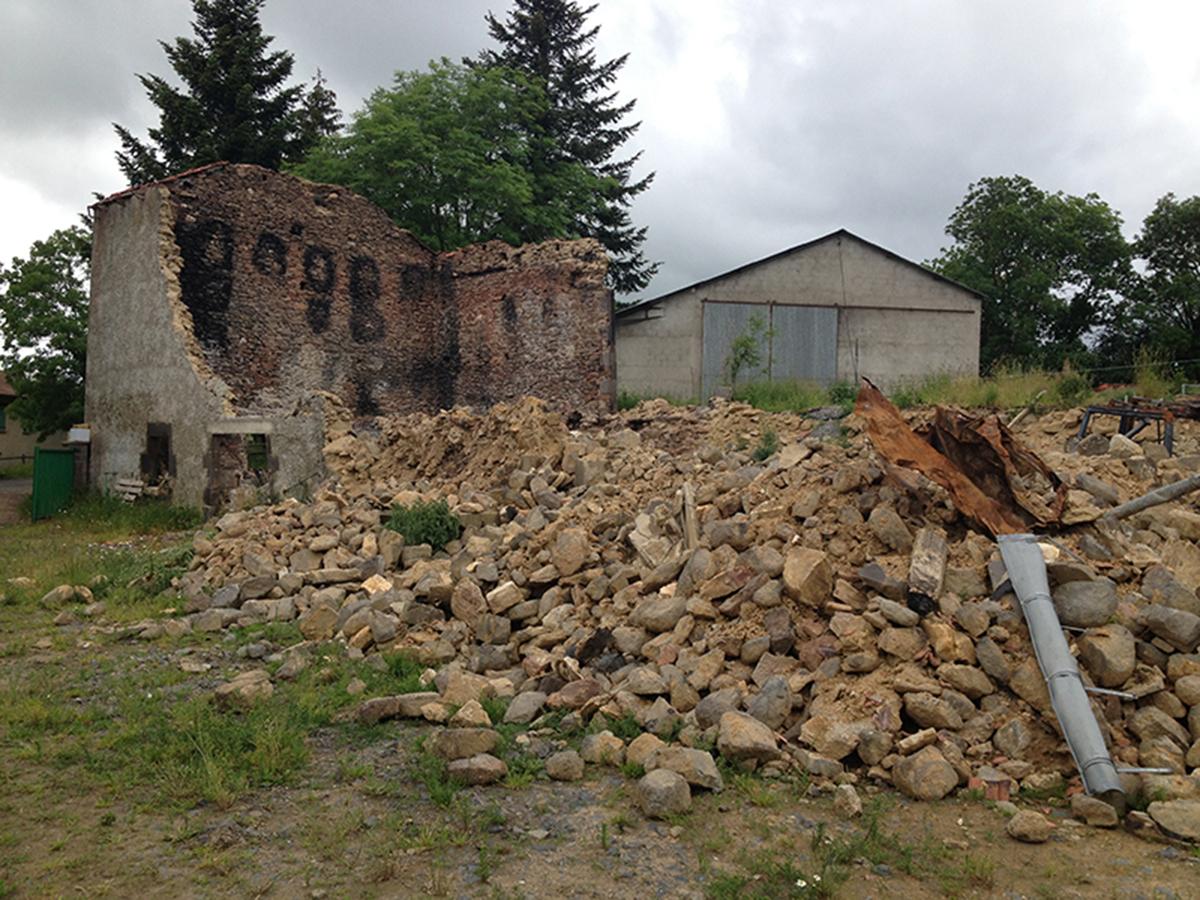 Construction d'une maison à Ally