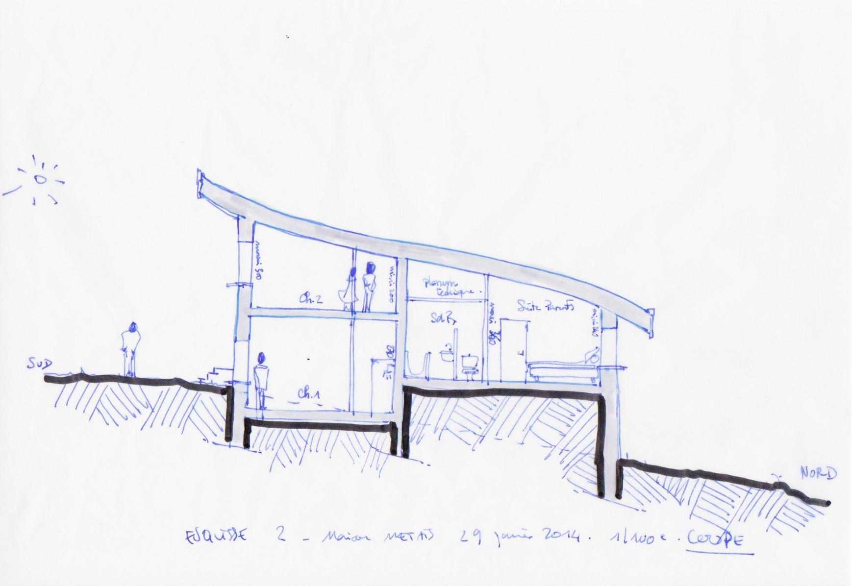 Construction d'une maison neuve à Retournac