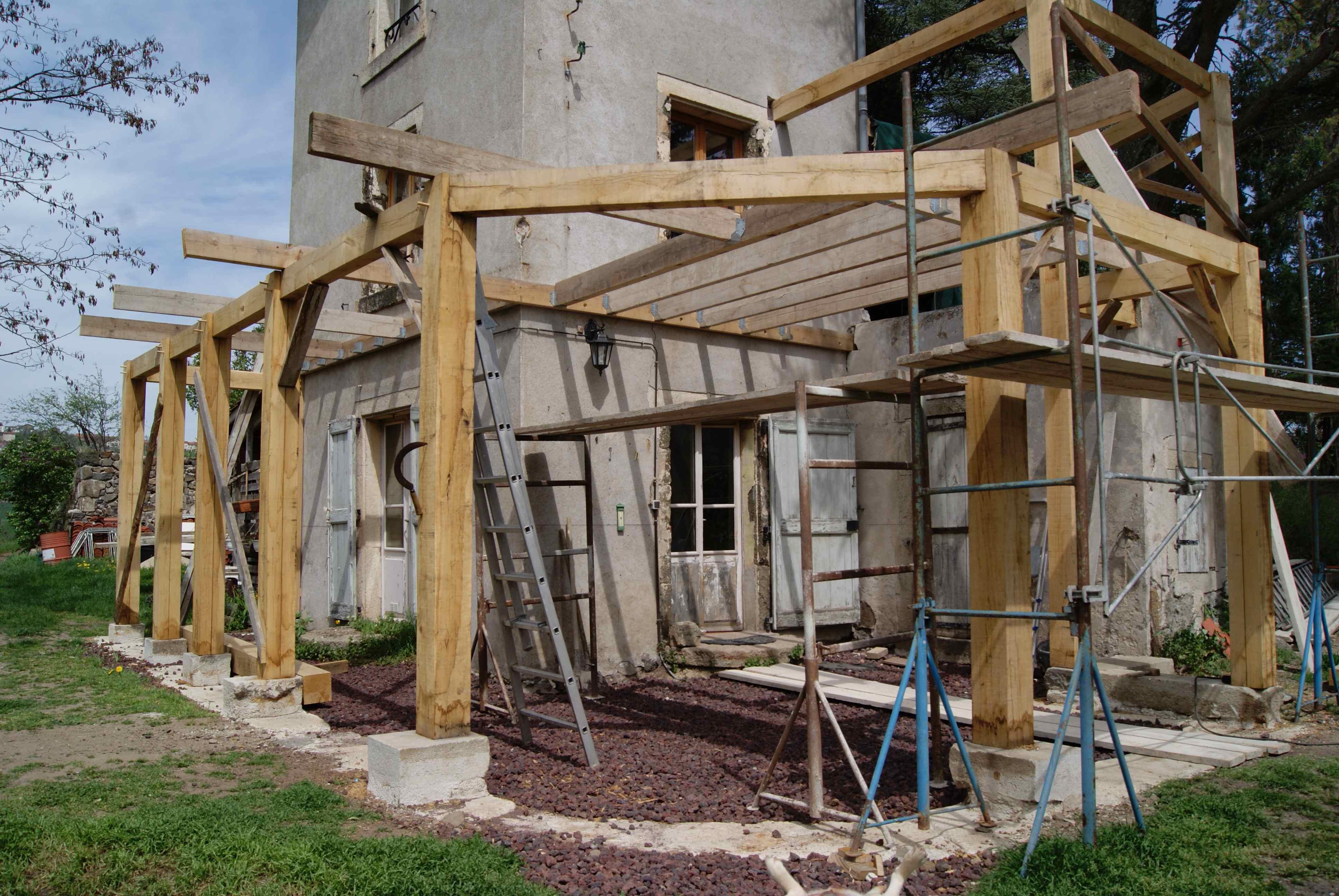 Extension en bois à Espaly Saint Marcel