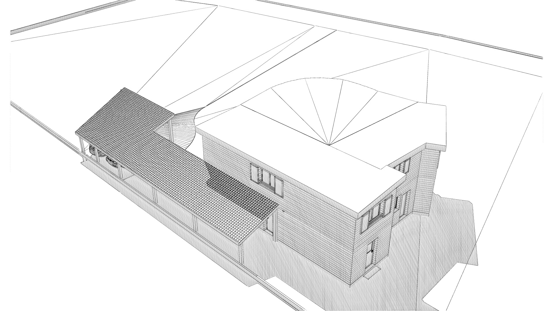 Maison neuve à Coubon