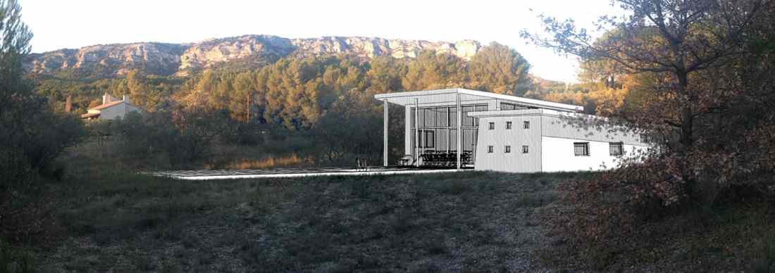 Projet de construction d'une maison bioclimatique