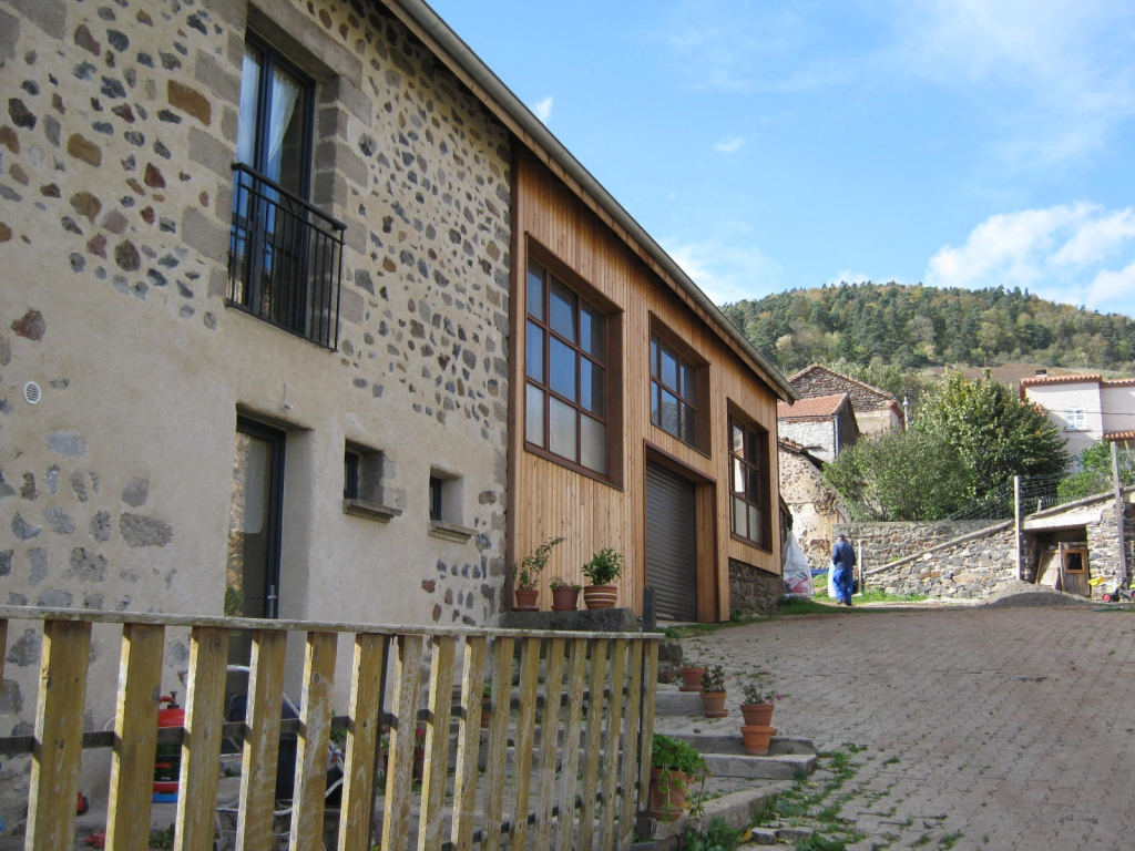 Rénovation en pierre à Vissac-Auteyrac