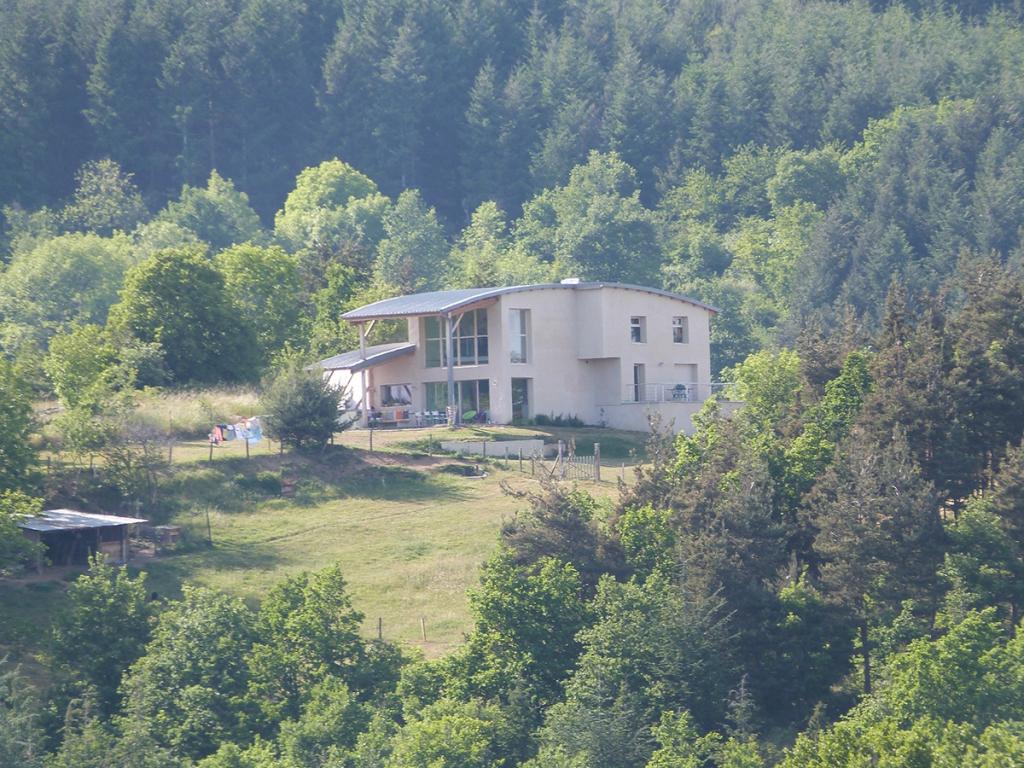 Maison en chaux/chanvre à Langeac