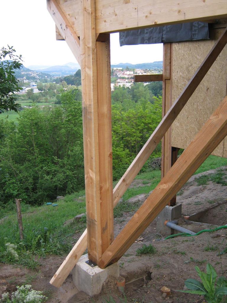 Maison à ossature bois à Polignac