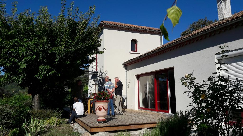 Eco-rénovation d'un pavillon à Coubon
