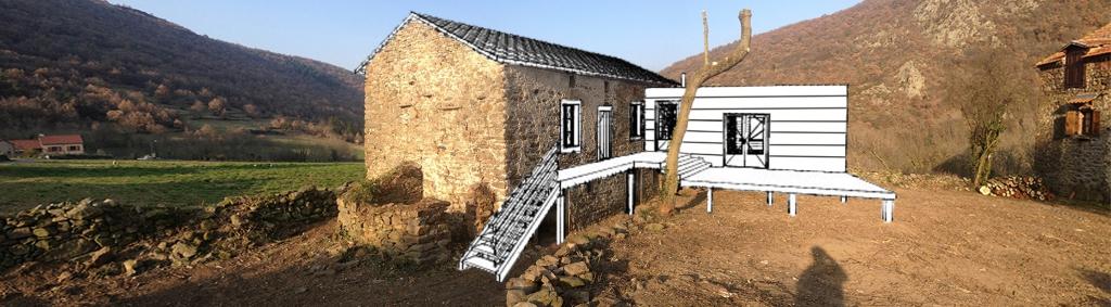 Projet de rénovation et d'extension à Torsiac
