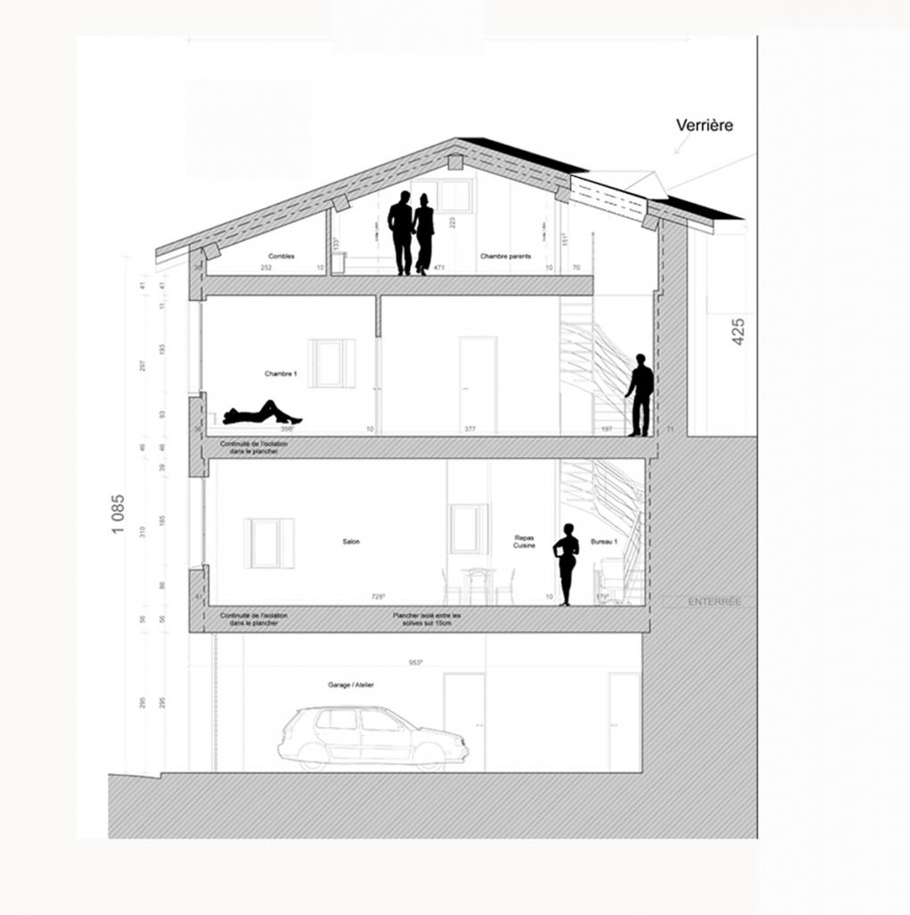 Maison de ville au Puy en Velay