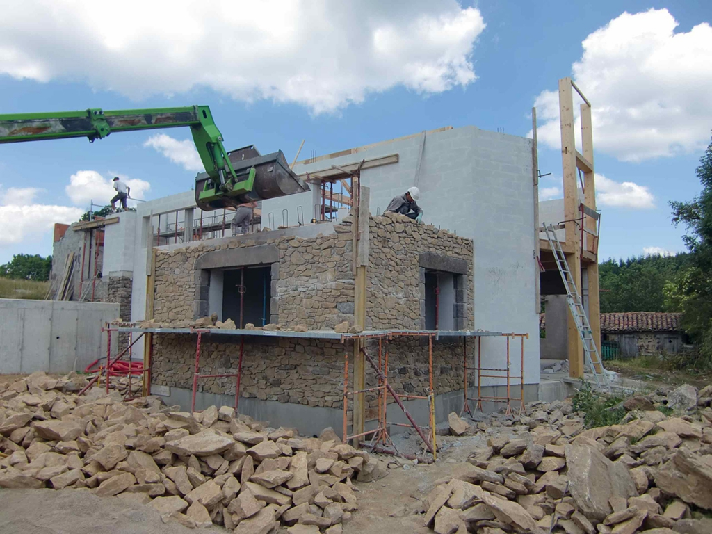 2013 maison en monomur b ton cellulaire ally eco for Assurance chantier construction maison