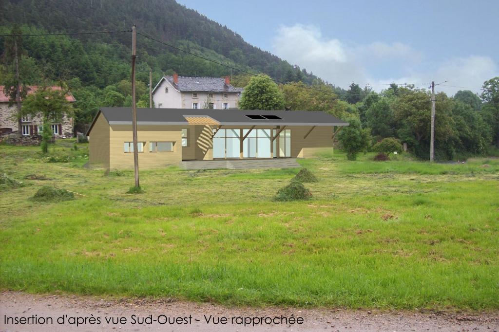 Projet de maison en ossature bois et paille