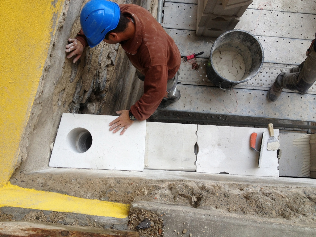 Rénovation immeuble au Puy en Velay
