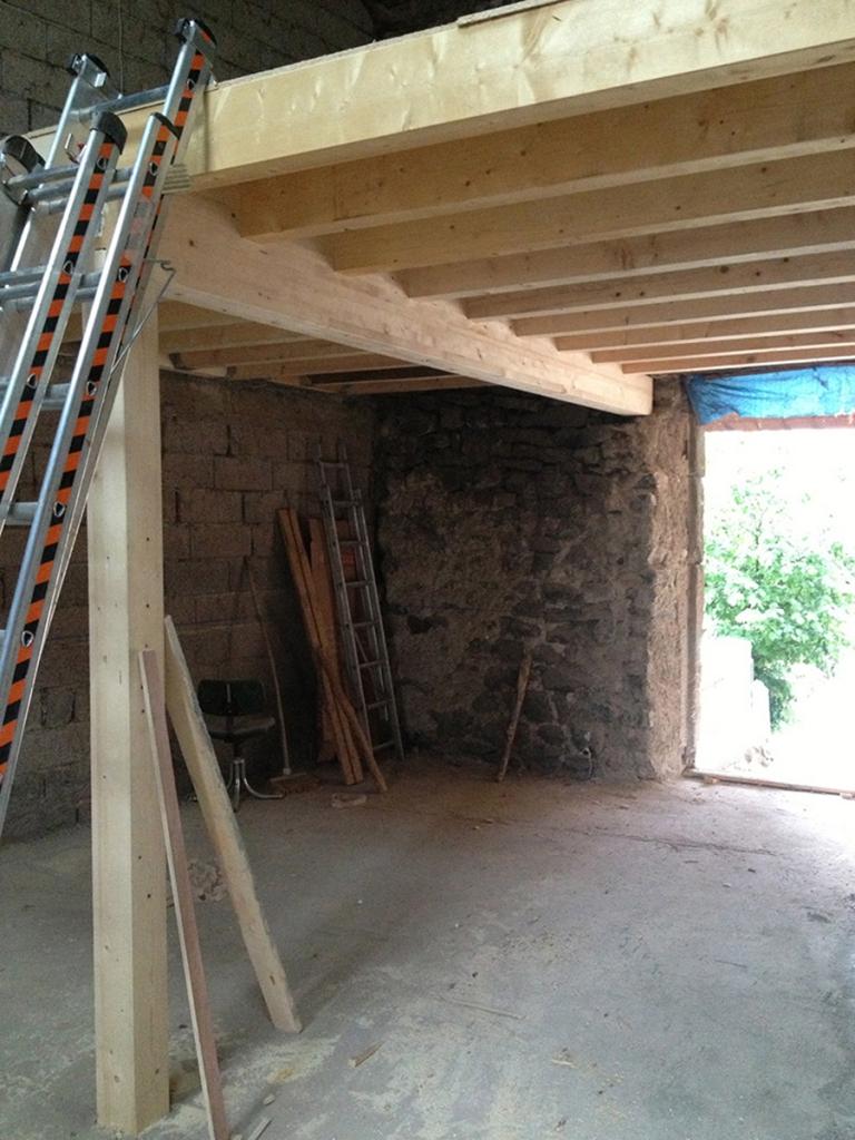 Rénovation d'une grange en dépendance en Haute-Loire