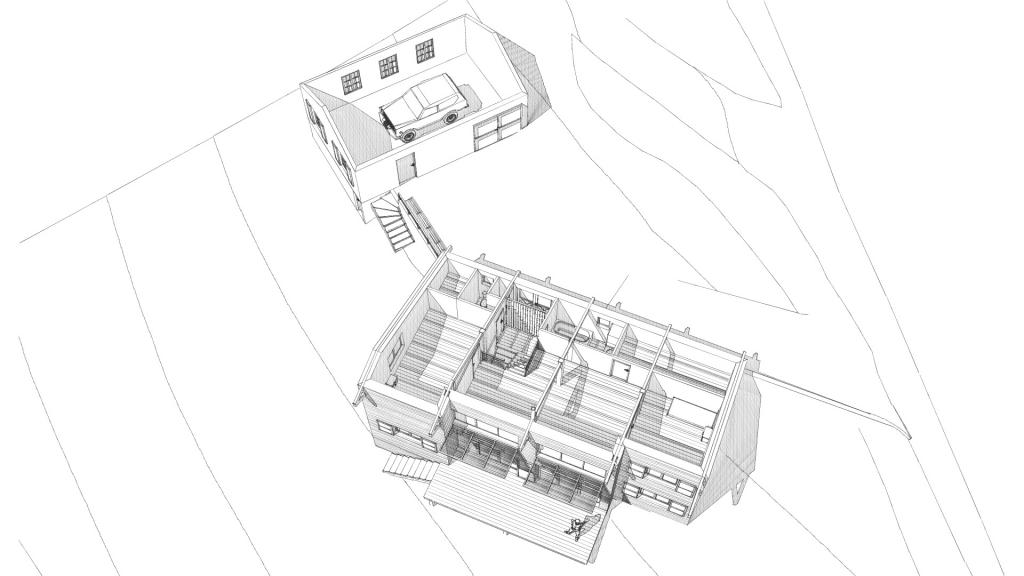 Maison neuve à Rosières