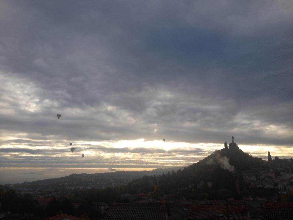 ballons mongolfières au Puy