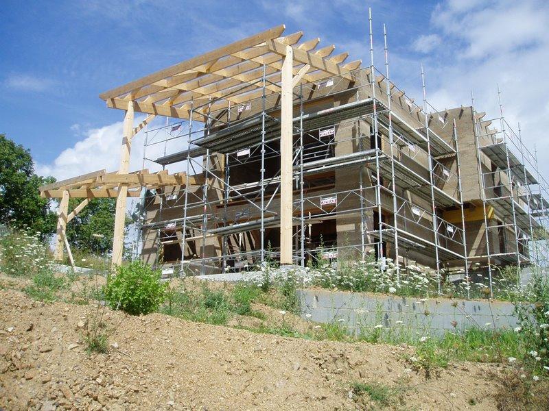 Une maison en béton de chanvre en Haute-Loire