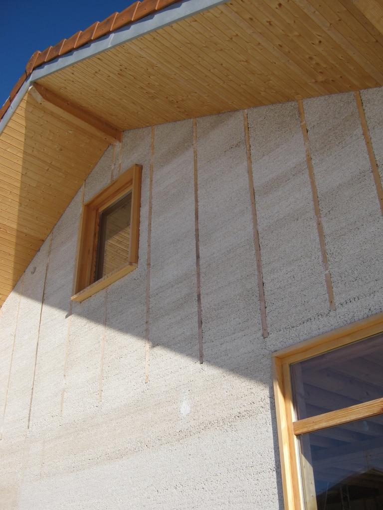 Visite de réalisations en chaux/chanvre en Savoie