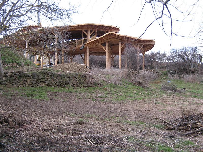 Habitat groupé à Blassac - Autoconstruction