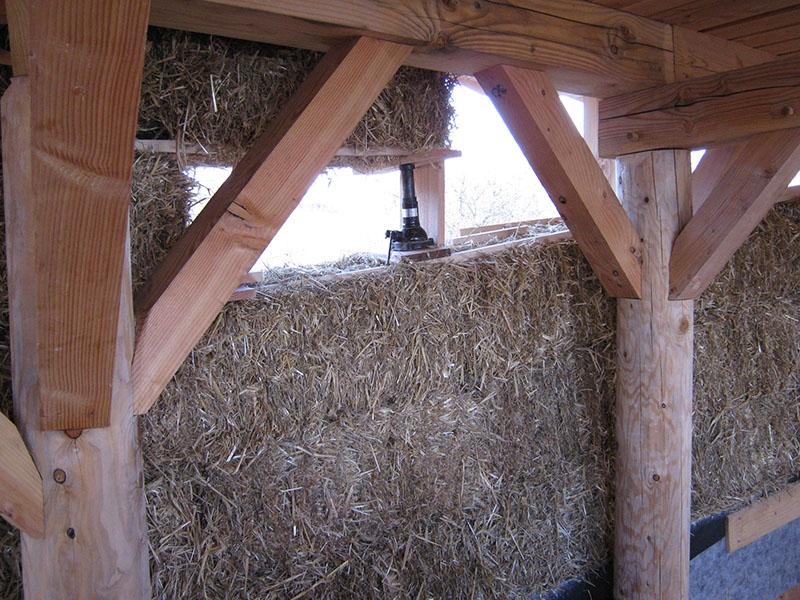 Habitat groupé à Blassac - Autoconstruction - Chantier participatif paille