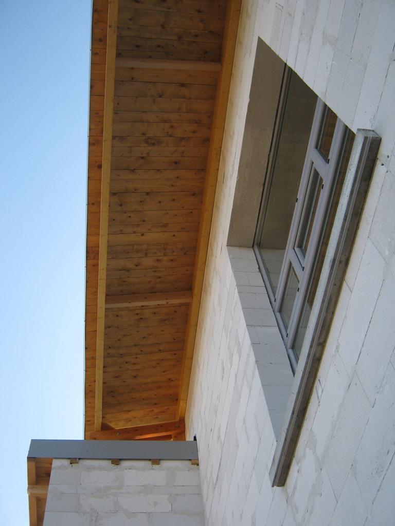 Maison en monomurs de béton cellulaire à Yssingeaux