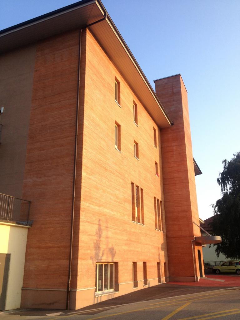 Immeuble doublé en Chaux Chanvre par l'extérieur