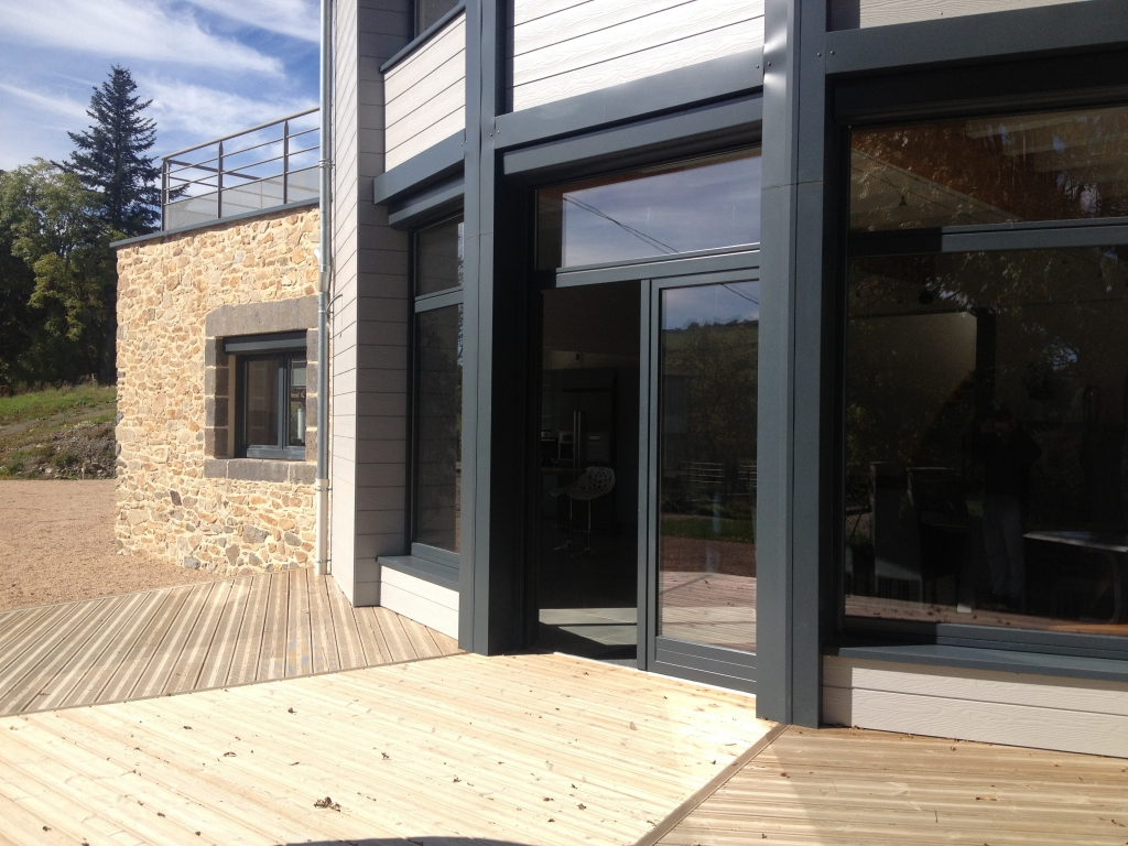 Maison terminée à Ally en Haute Loire