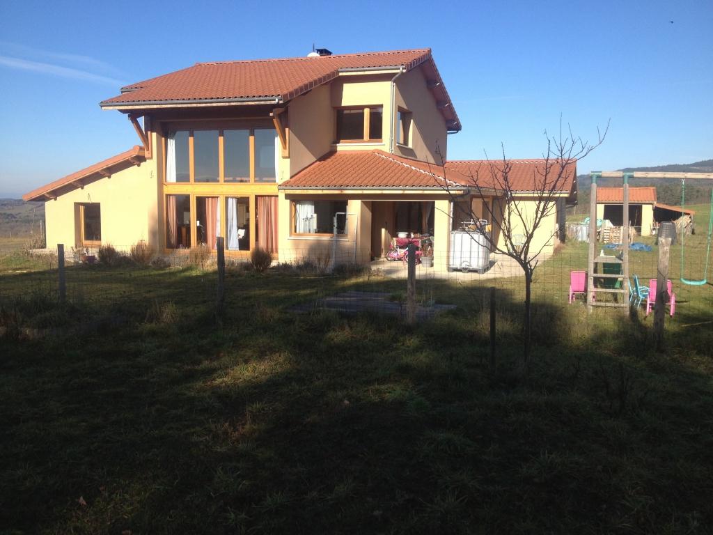 Maison en brique monomur à Chassagne