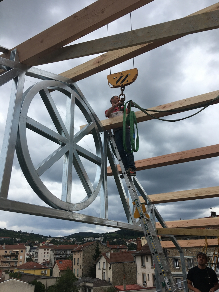 Petit Immeuble au Puy en Velay, à la recherche d'un habitat résilient