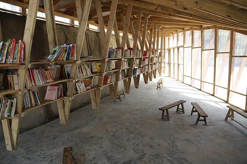 Bibliothèque en Chine à Shuanghe