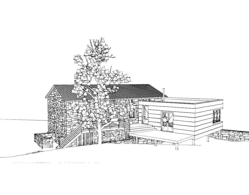 Rénovation extension d'une maison en Haute-Loire