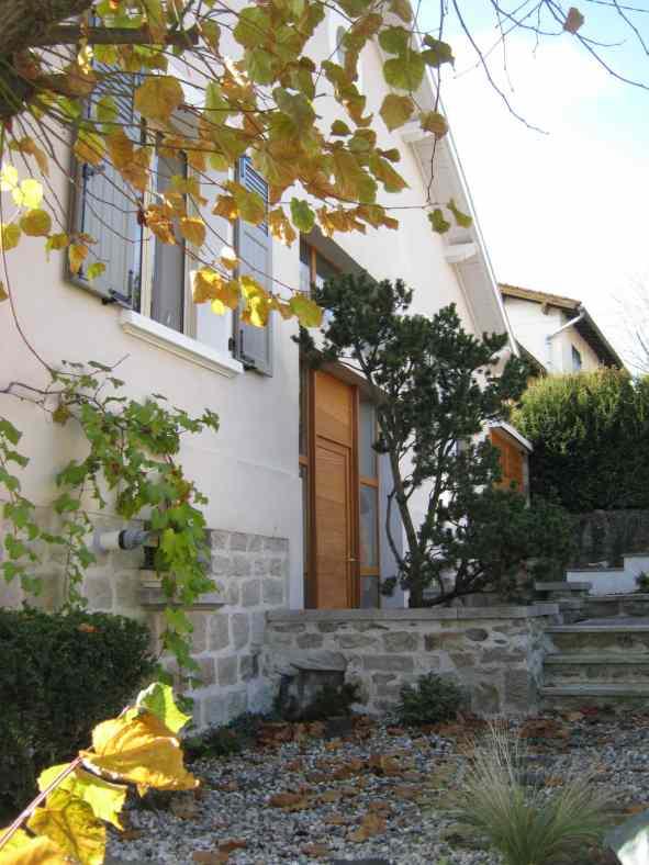 Rénovation d'une maison en pierre au Puy en Velay