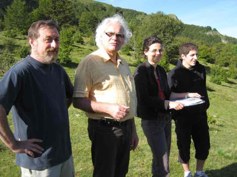Etude paysagère des cols du Cantal - Equipe