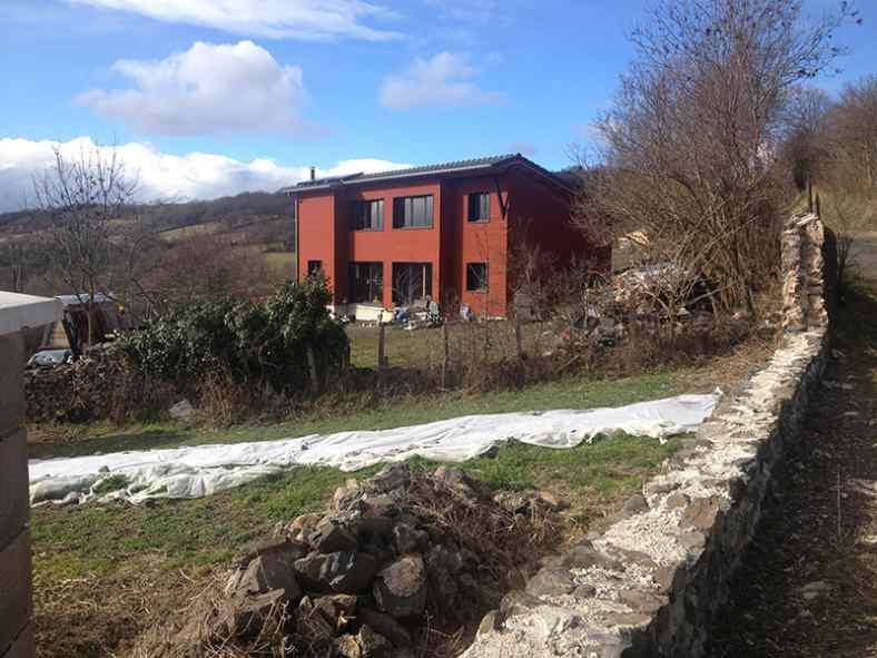 Maison à ossature bois à Rosières
