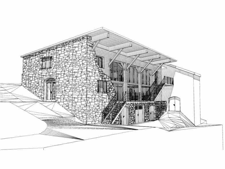 Monjauze architectes - Projet à vendre à Freycenet la Tour en Haute-Loire