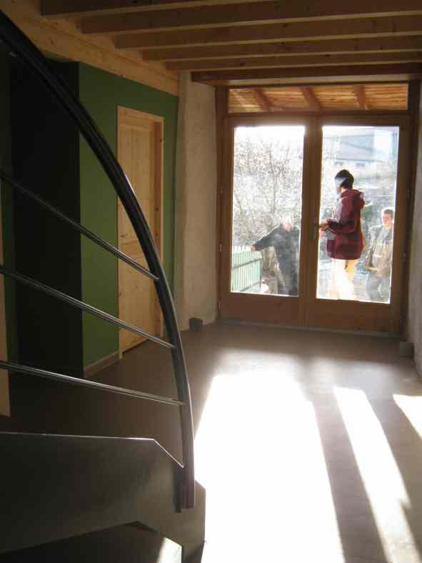 Réhabilitation d'une grange en Haute-Loire avec du béton de chanvre
