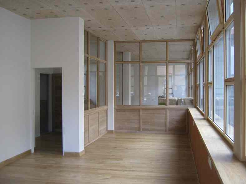 Monjauze architectes - Le Puy-en-Velay - Eco-rénovation de bureaux