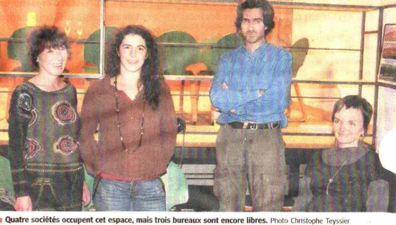 Pépinière au Puy-en-Velay - Publication dans le journal Le Progrès