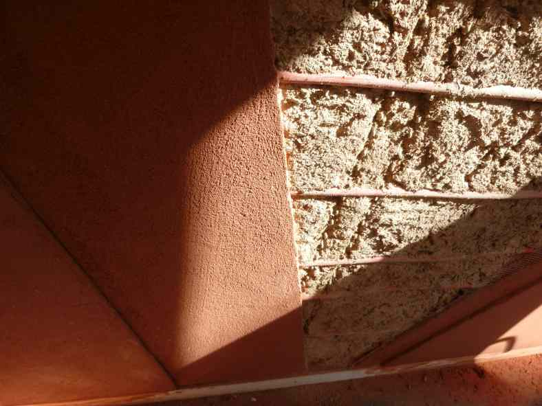 Mur en terre crue chauffant - Le Puy-en-Velay