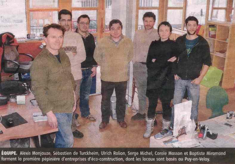 Publication dans le journal La Montagne - Pépinière au Puy-en-Velay