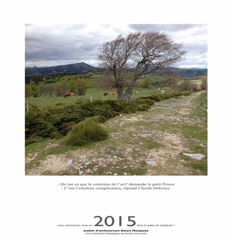 Atelier Monjauze architectes - Voeux 2015