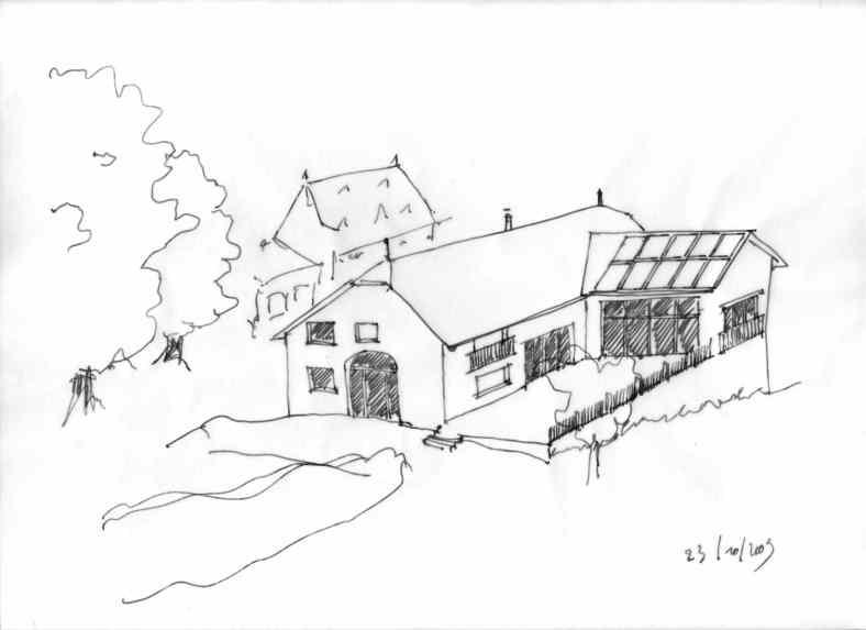 Projet d'éco-rénovation d'une maison à Arpajon sur Cere