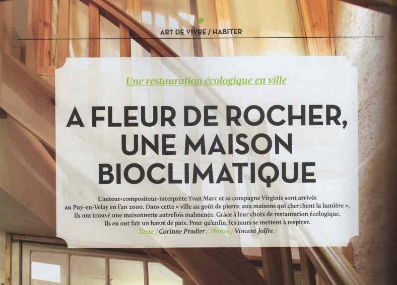 Une maison bioclimatique au Puy-en-Velay