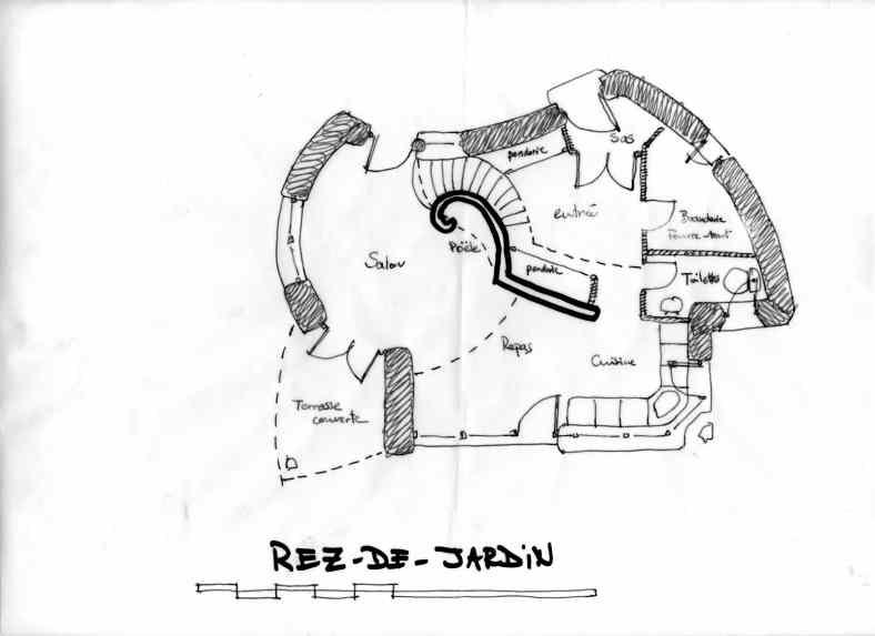 Projet de maison chaux chanvre à Lavaudieu
