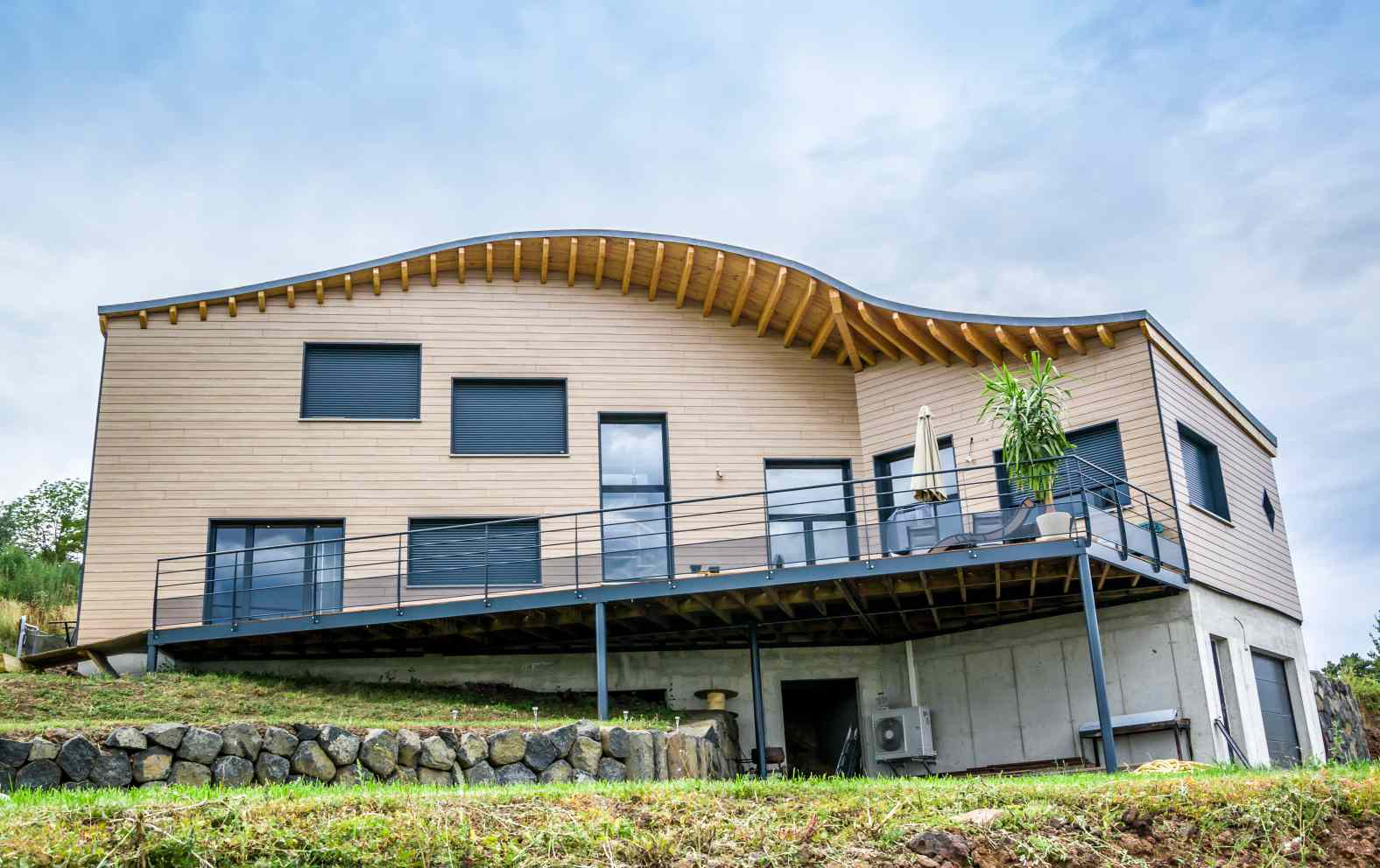 Venez d couvrir une maison bioclimatique pr s du puy en for Decouvrir maison
