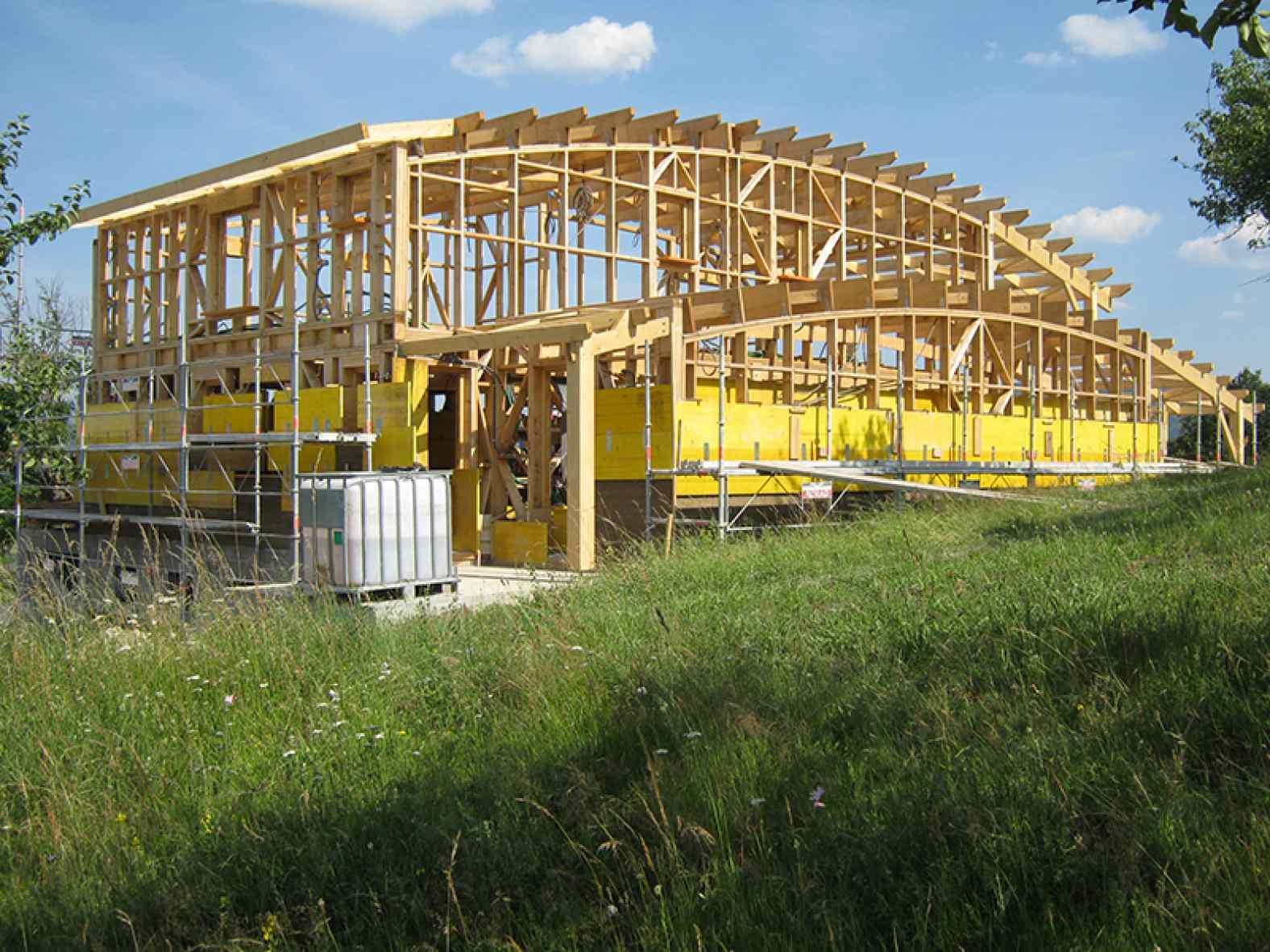Maison ossature bois à Langeac