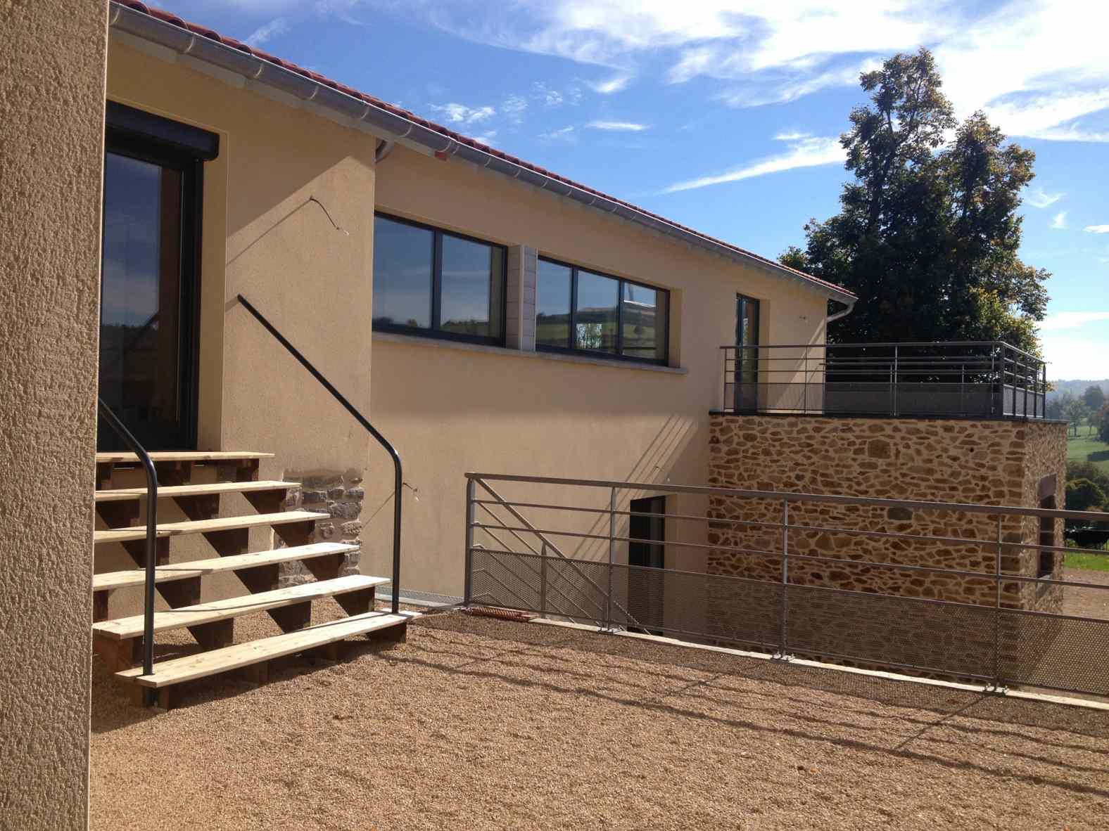 eco construction d 39 une maison en b ton cellulaire ally. Black Bedroom Furniture Sets. Home Design Ideas