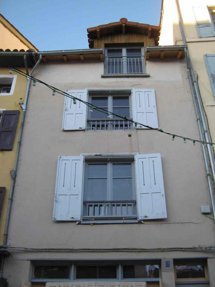 Architecte Le Puy En Velay eco-rénovation complète d'une maison de ville au puy en
