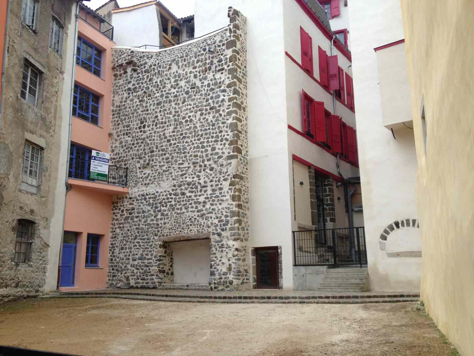 Rénovation de coeur d'ilôts au Puy-en-Velay