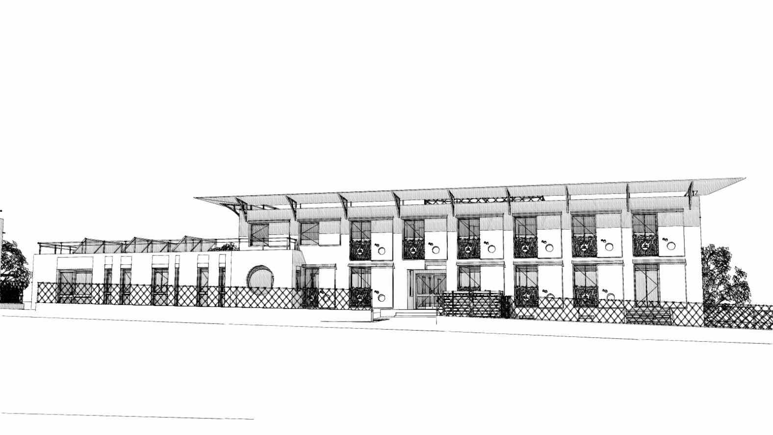 Rénovation en façade