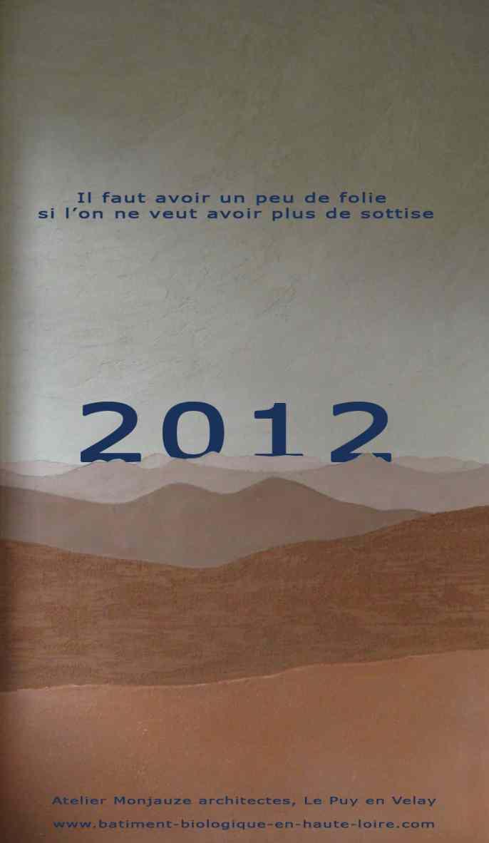 2012 - Atelier Monjauze architectes