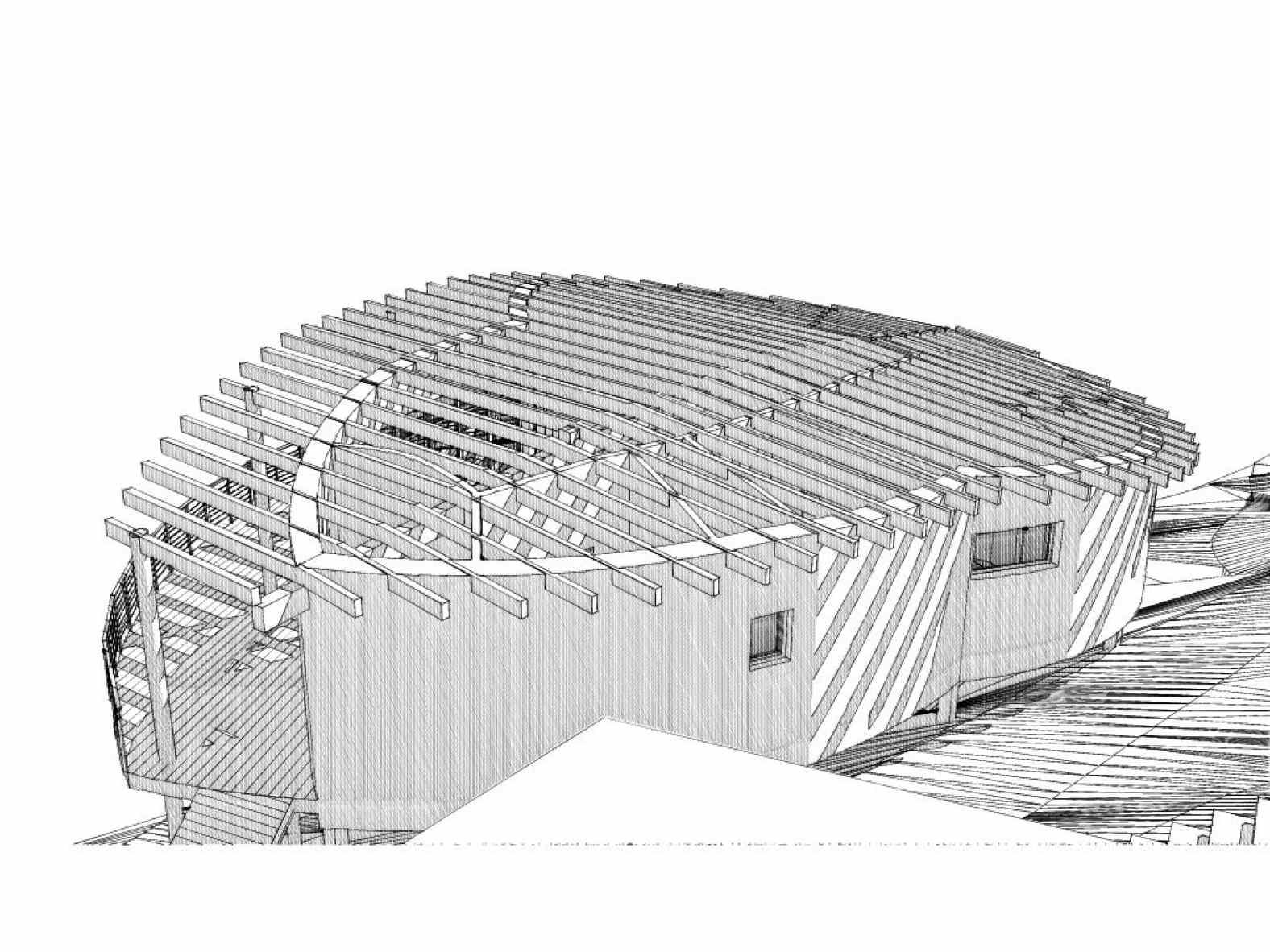 Projet de maison en ossature bois et chanvre
